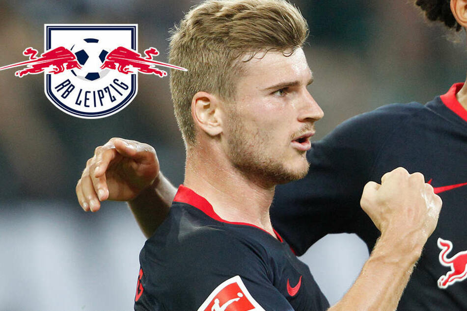 Dreierpack Werner, wieder Sieg! RB Leipzig grüßt von der Tabellenspitze