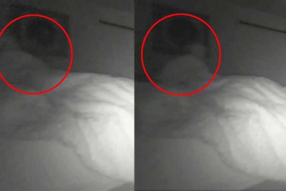 Mann spürt jede Nacht jemanden an seinem Bett sitzen: Dann installiert er eine Kamera und ist entsetzt