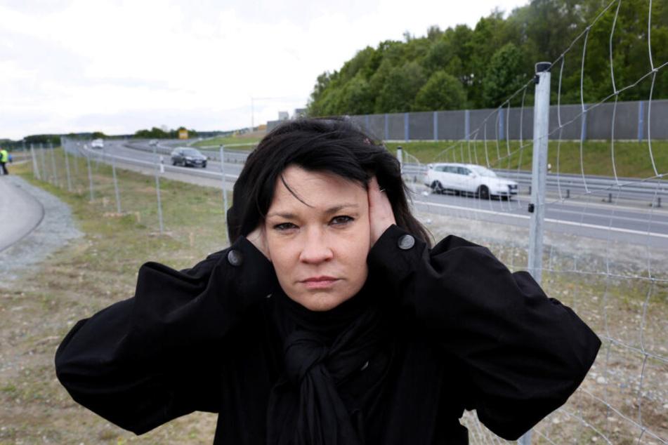 Zu laut: Ines Saborowski (51, CDU) unterstützt die Bürger.