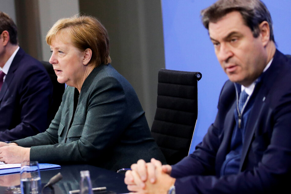 Rebellion in der CSU gegen strikte Corona-Politik von Söder und Merkel