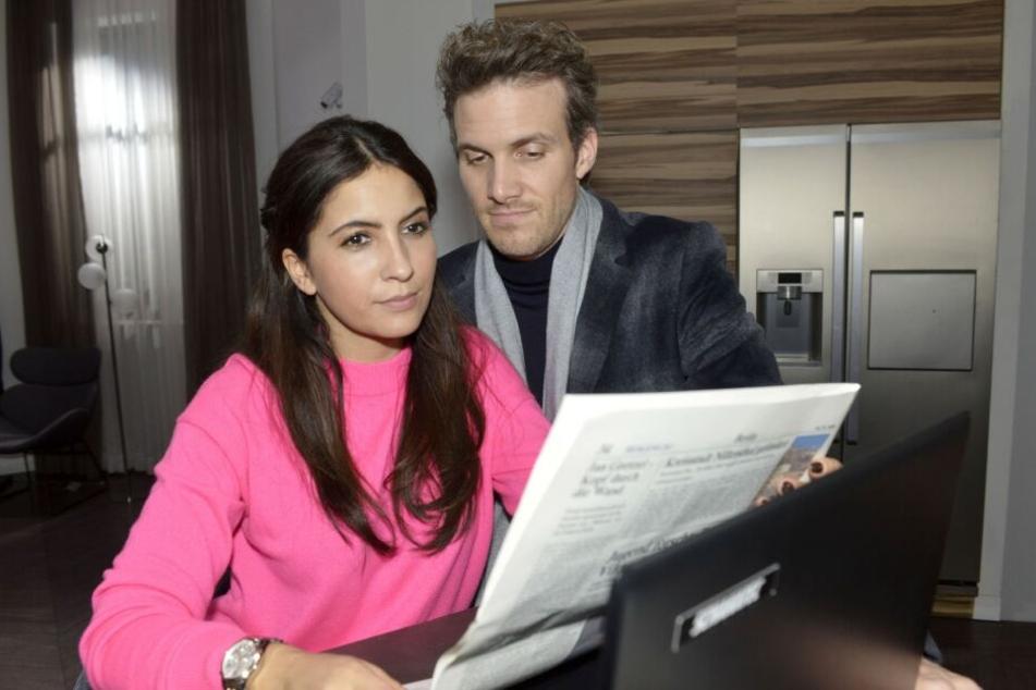 Ein mit privaten Informationen gespickter Zeitungsartikel wirft Laura völlig aus der Bahn.