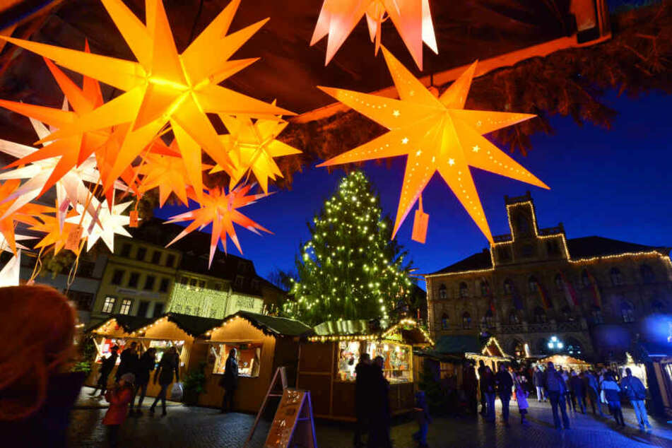 In Mühlhausen findet man auf dem Kunstmarkt keine typischen Weihnachtsgeschenke. (Symbolbild)