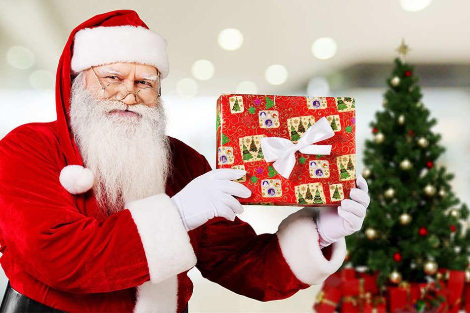 Dieses Jahr ist der gemietete Weihnachtsmann in Bielefeld nicht ganz so teuer.