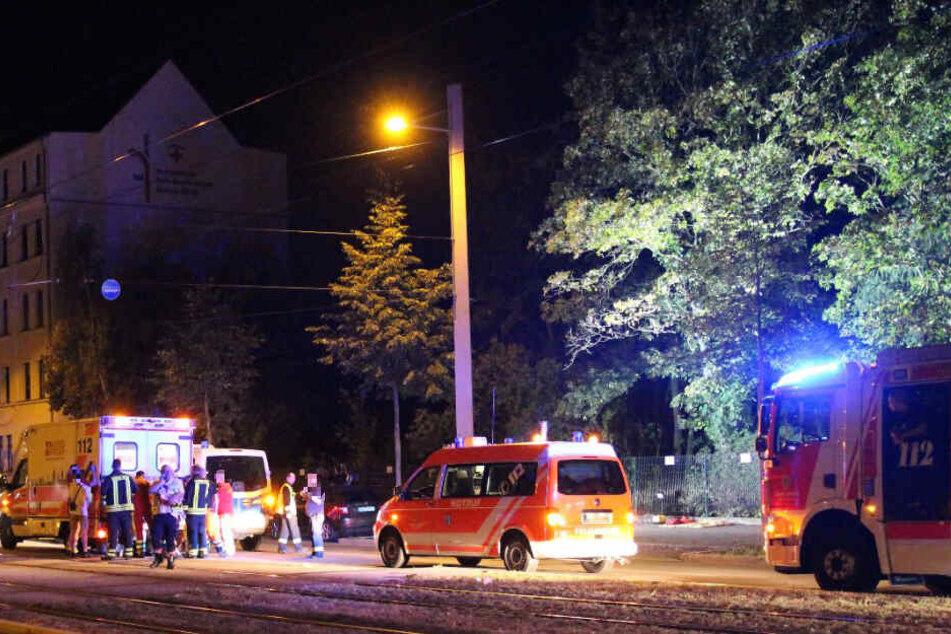 Insgesamt wurden sechs Personen verletzt, eine davon schwer.