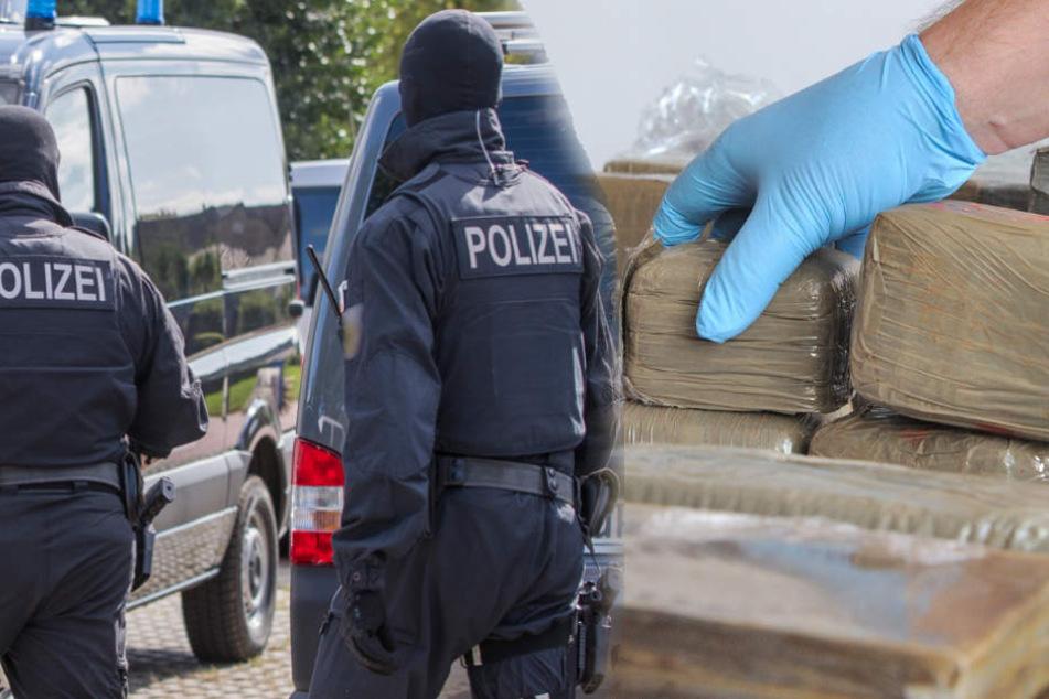 Spezialeinheiten der Polizei konnten fünf mutmaßliche Mitglieder eine Drogenbande verhaften. (Symbolbild)