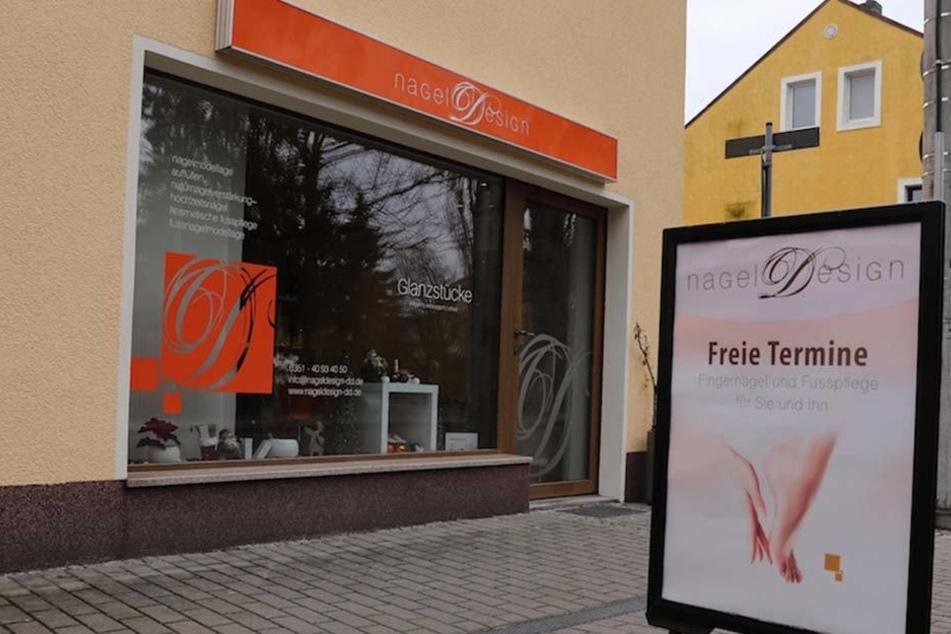 Überfall auf Dresdner Nagelstudio! Schwangere Angestellte bedroht
