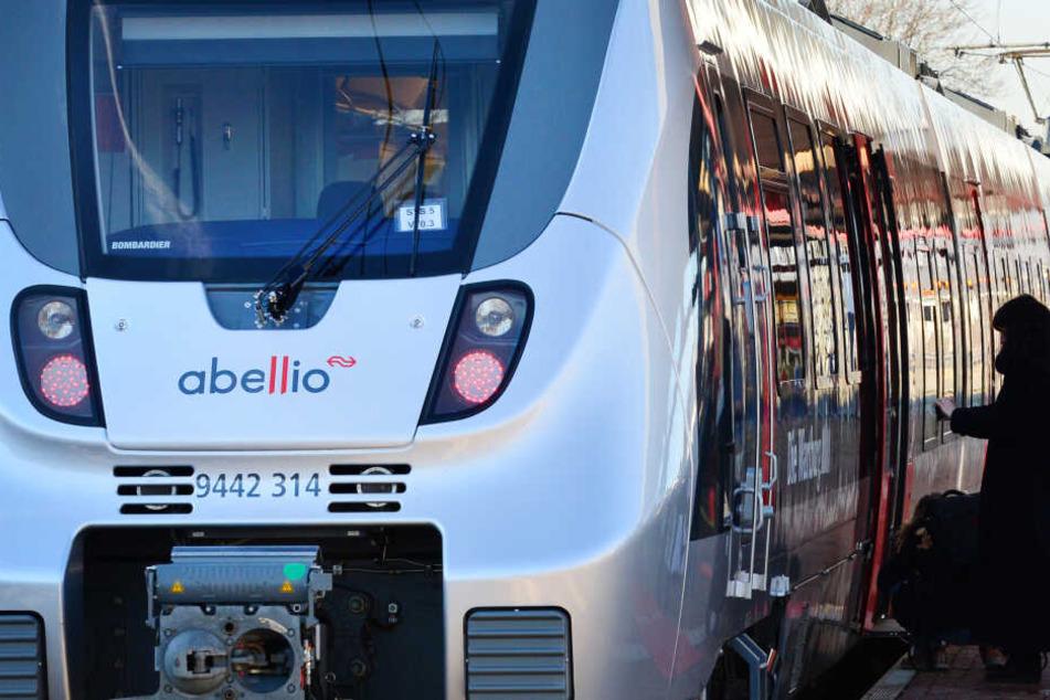 Ein Zug des Privatunternehmens Abellio.