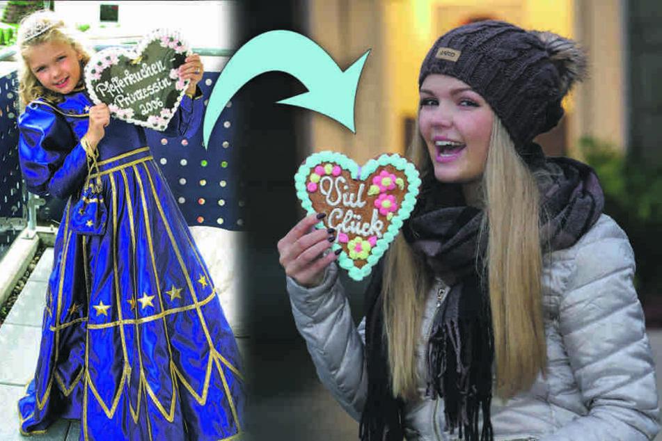 Dresdens allererste Pfefferkuchen-Prinzessin singt jetzt Schlager
