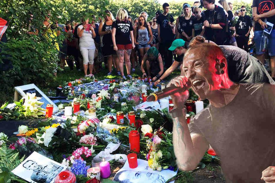 So emotional verabschiedete sich Sachsen vom Linkin Park-Sänger