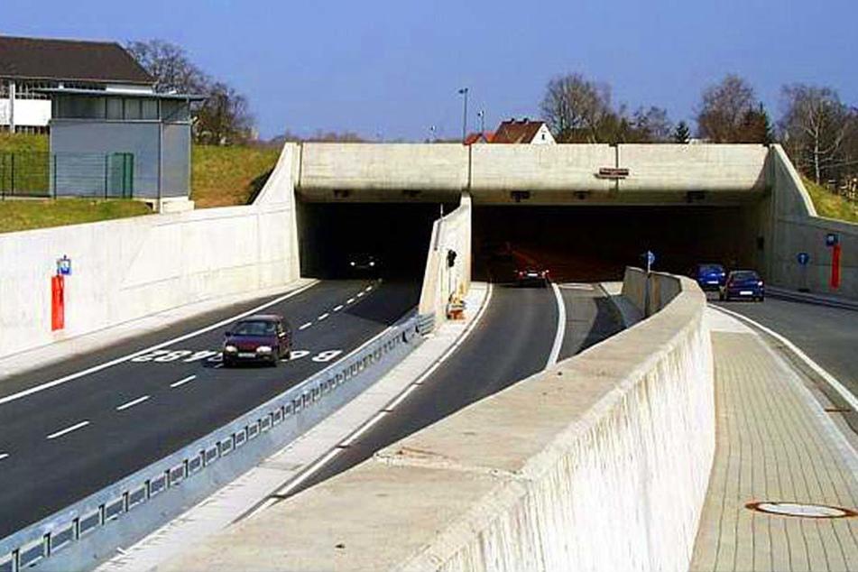 Dieser Tunnel sorgte für viel Angst bei einem Autofahrer.