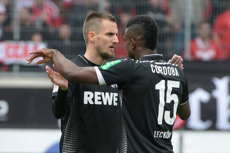Dominick Drexler und Jhon Cordoba trafen zur 2:0-Führung des 1. FC Köln