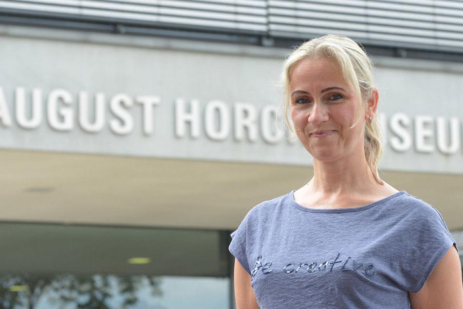 Pressesprecherin Annett Kannhäuser erinnert sich noch gut an den Diebstahl im August-Horch-Museum in Zwickau.
