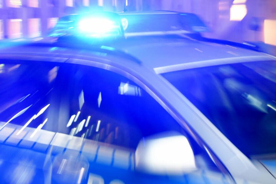 Zahlreiche Polizeistreifen rückten aus, um die Gefahr auf der A7 zu bannen (Symbolbild).