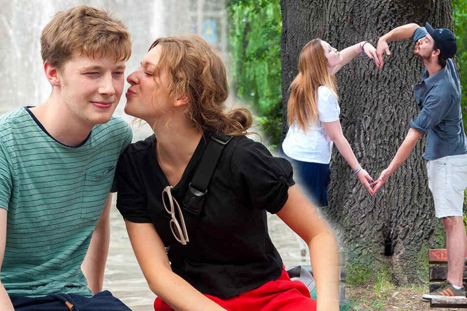 Tag des Kusses: Hier ist Chemnitz einfach zum Knutschen