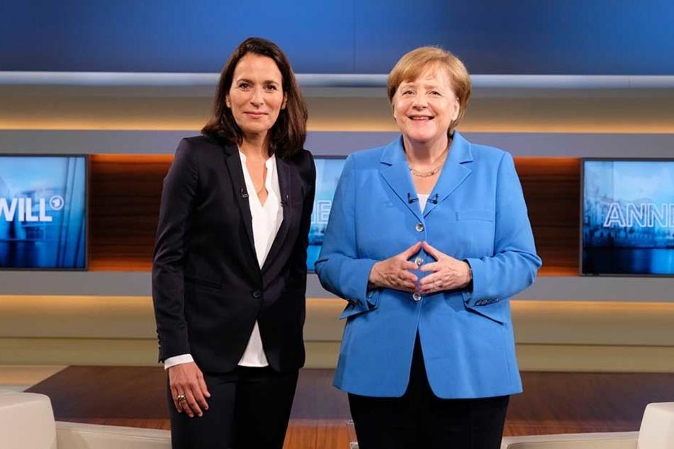 Angela Merkel war am Sonntagabend zu Gast bei Anne Will.