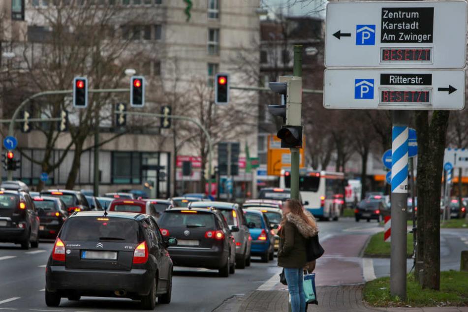 Der Autoverkehr in der Stadt soll extrem verringert werden.