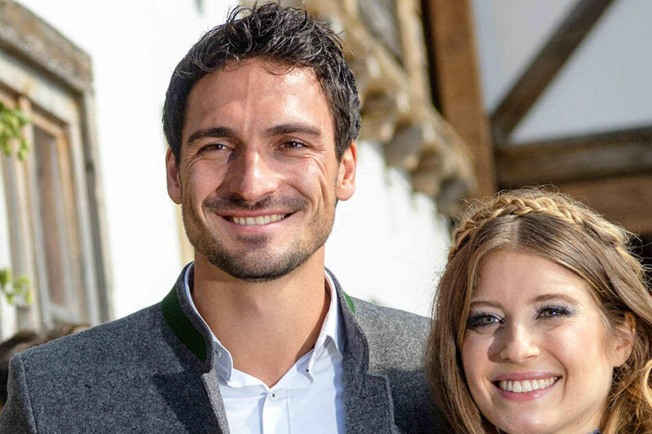 Glückliche Eltern! Mats Hummels (29) und seine Frau.