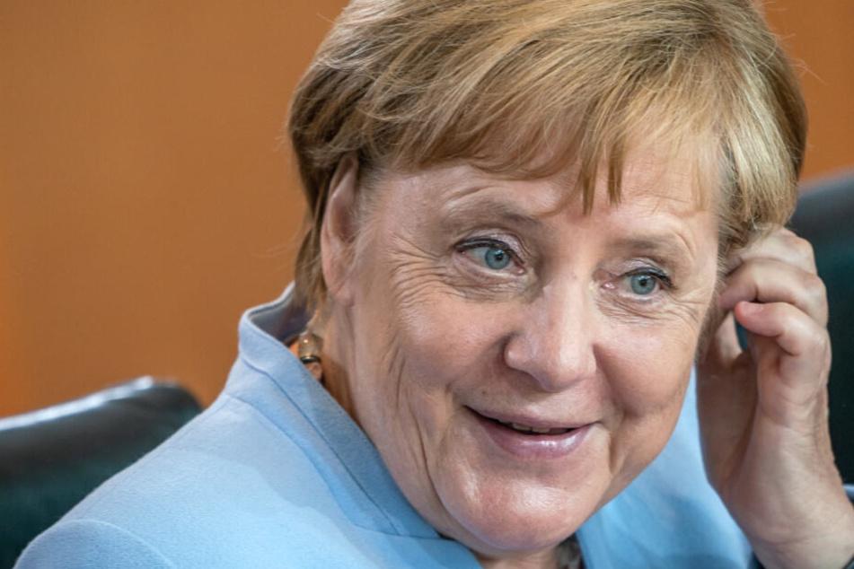 Angela Merkel ließ sich nicht aus der Ruhe bringen. (Archivbild)