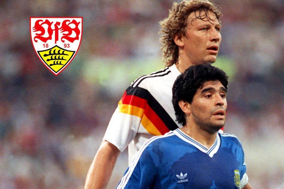 Beim VfB reagiert man bestürzt auf den Tod Diego Maradonas (†60), der einst in Stuttgart einen Titel gewann