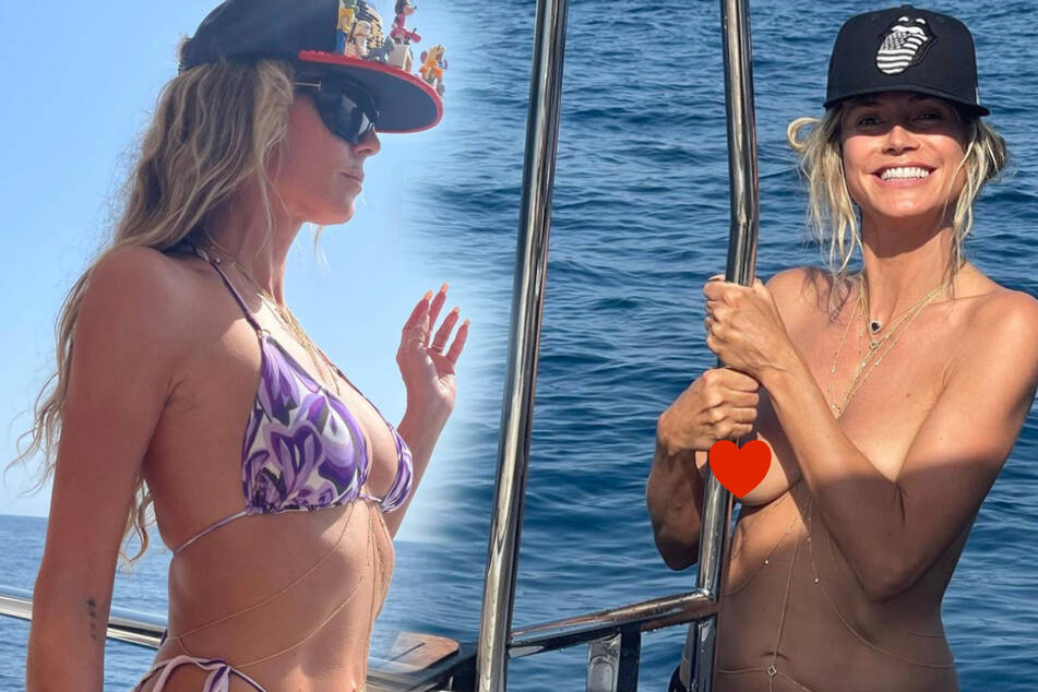 Heidi Klum: Heidi Klum macht Urlaub und zeigt sich oben ohne!