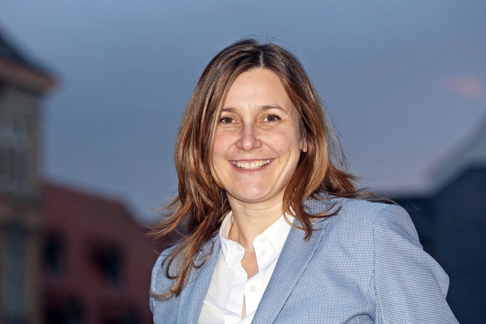 Constance Arndt (Bürger für Zwickau) tritt ebenfalls zur Stichwahl an.