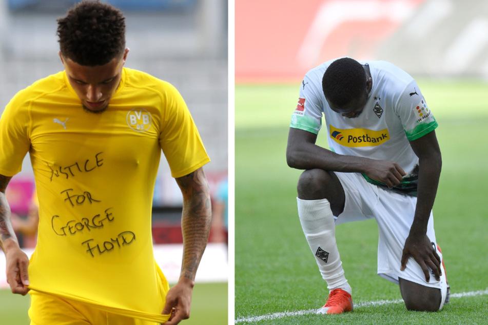 Keine Strafe für Bundesliga-Profis: DFB verschont Rassismus-Proteste