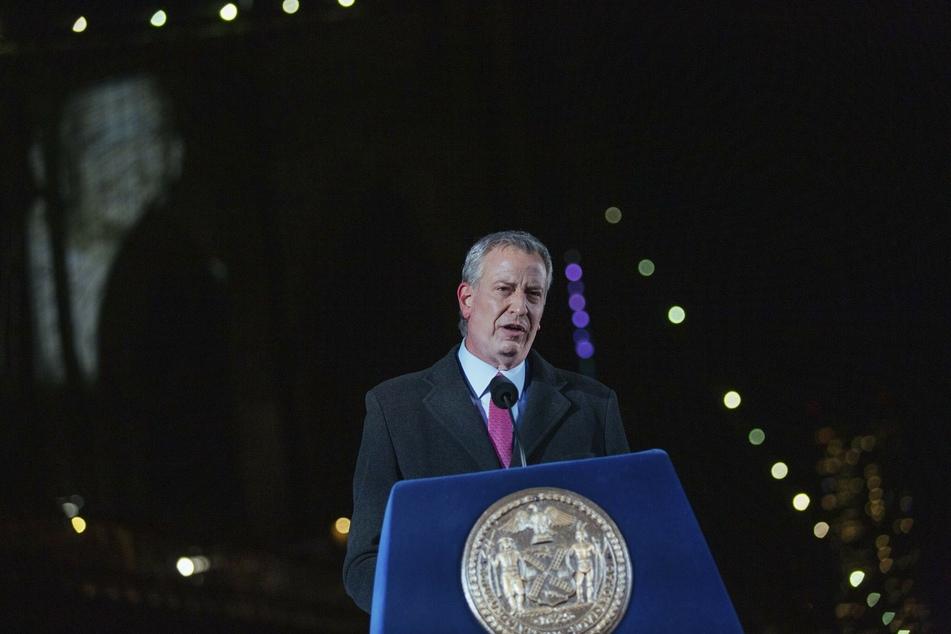 Bill de Blasio (59), Bürgermeister von New York.