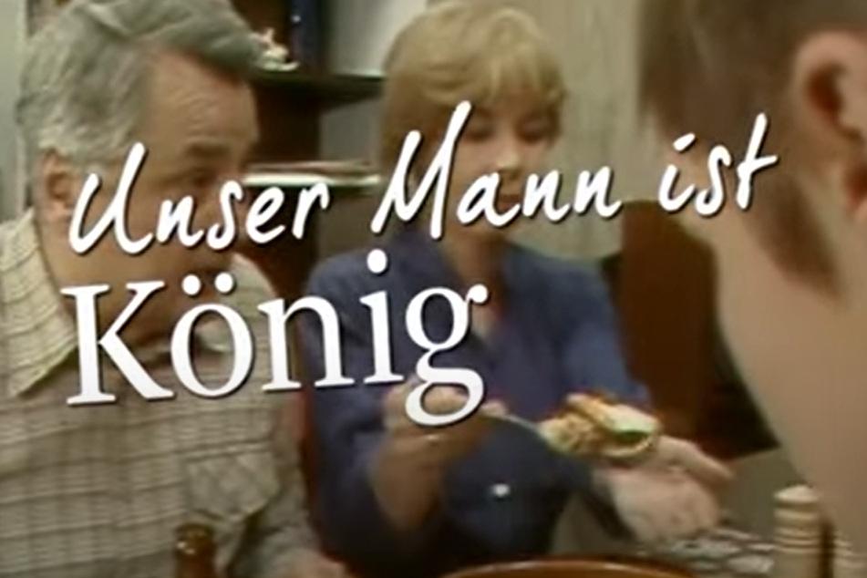 """""""Unser Mann ist König"""": mit Horst Drinda († 2005) und Annekathrin Bürger (83) bald im MDR."""