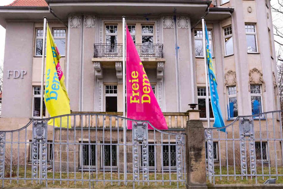 """Nach den Angriffen auf das """"Liberalen Haus"""" ermittelt nun der Staatsschutz."""
