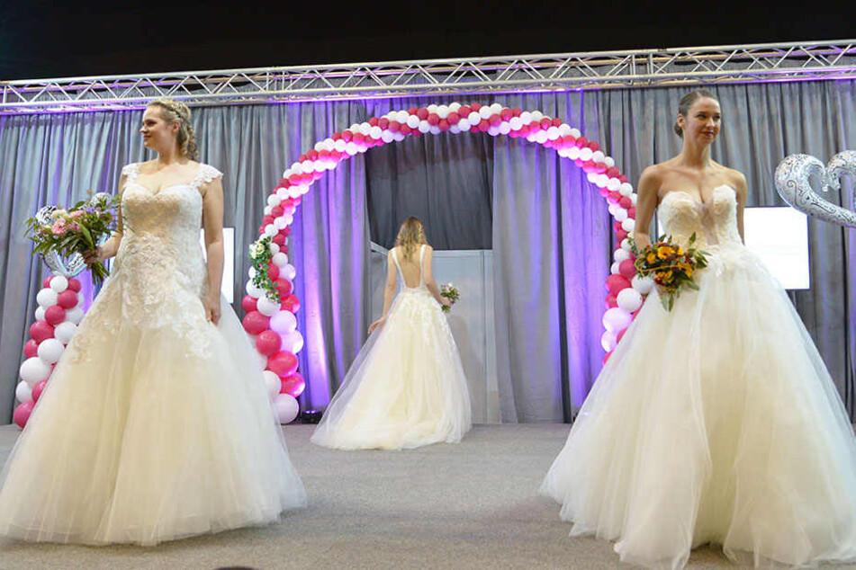 Immer teurer und pompöser: Das sind die Trends der Chemnitzer Hochzeitsmesse
