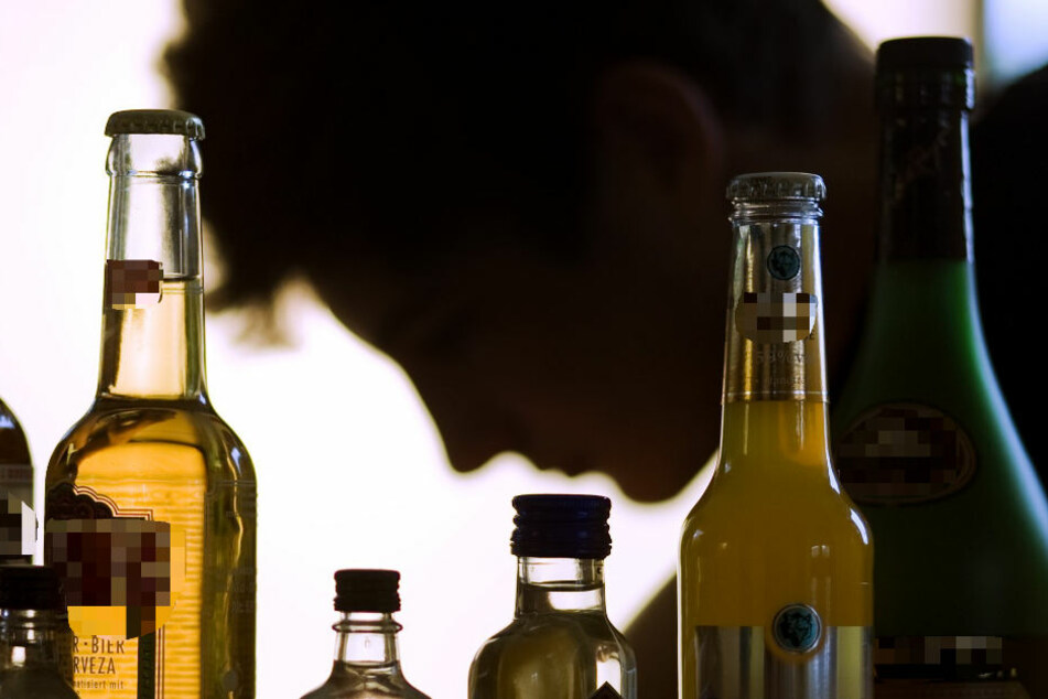 Der 25-Jährige muss enorme Mengen Alkohol zu sich genommen haben (Symbolbild).