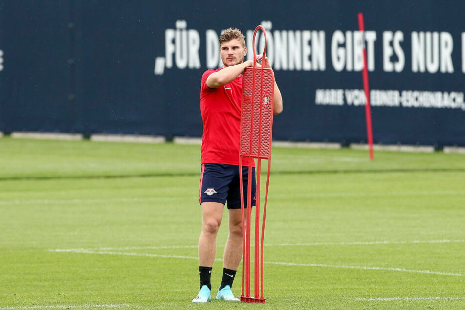 Timo Werner (23) erzielte in den Testspielen der Vorbereitung keinen einzigen Treffer. Ist er in Gedanken schon bei seinem nächsten Arbeitgeber?