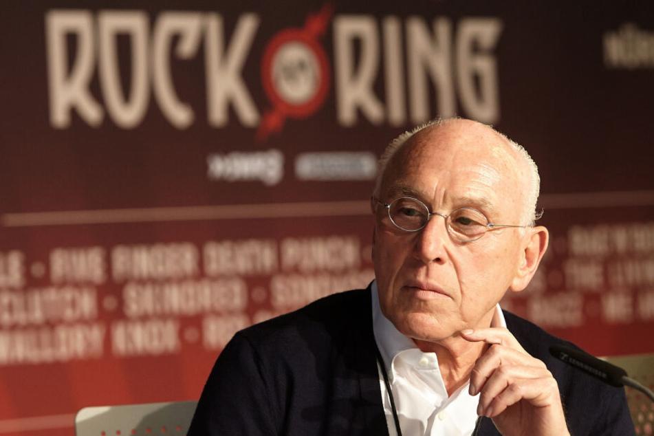 """Marek Lieberberg hat """"Rock am Ring"""" ins Leben gerufen."""