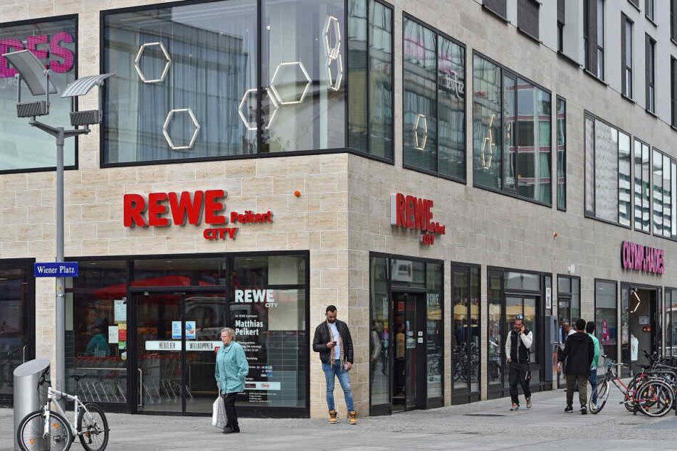 In dem Rewe-Markt ereignete sich der Vorfall.