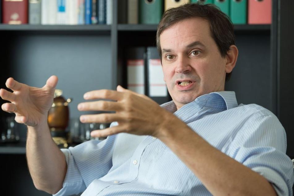Karl Lenhard Rudolph, wissenschaftlicher Direktor