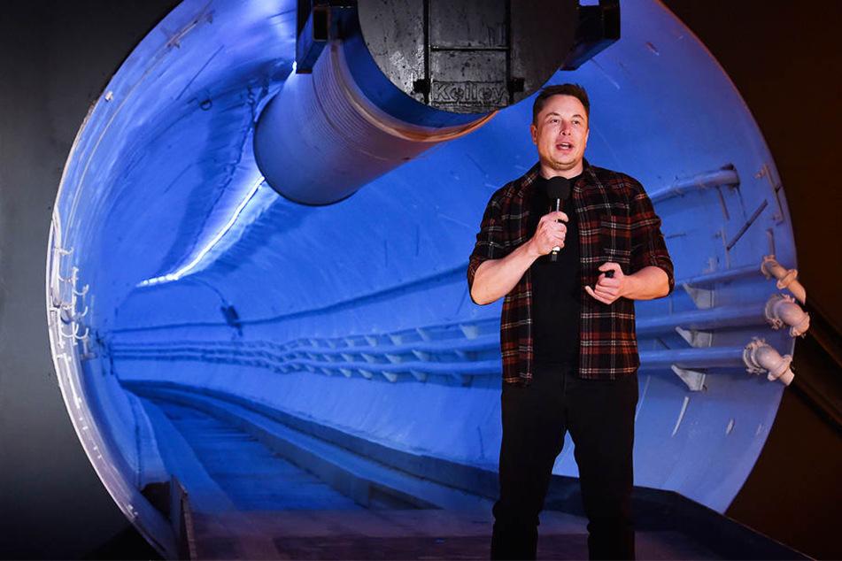 Reisen wir in Zukunft mit 240 km/h durch unterirdische Tunnel?