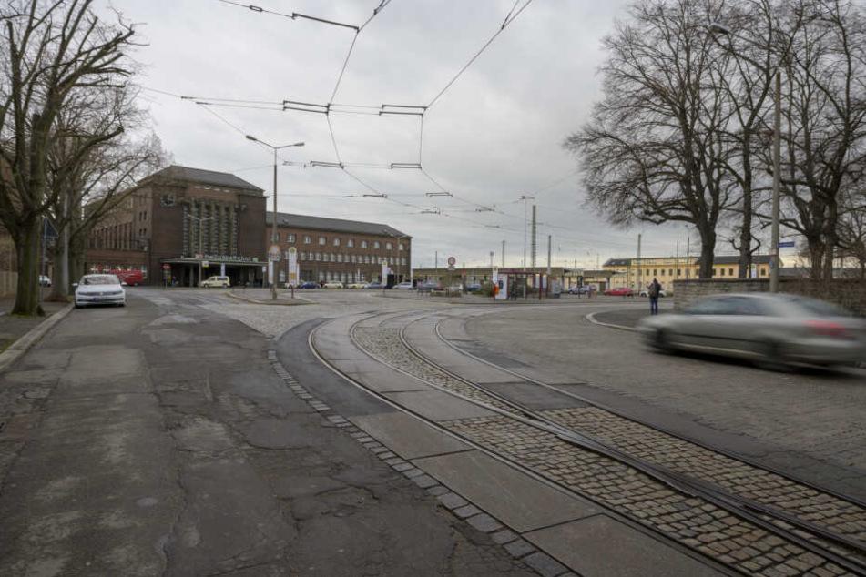 Seit vergangener Woche fährt keine Tram mehr zum Hauptbahnhof.
