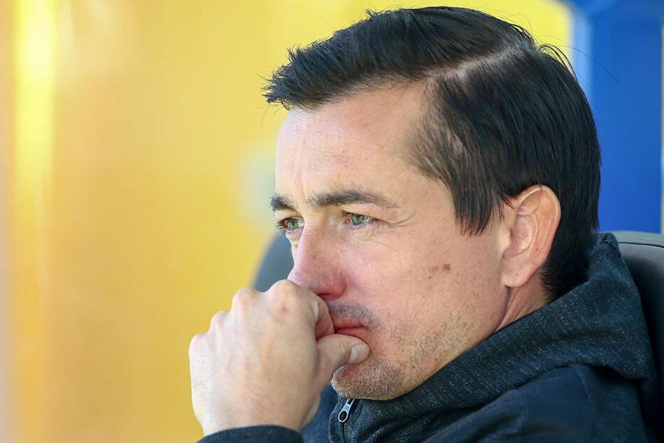 Zu Beginn der Saison machte sich Trainer Daniel Meyer so seine Gedanken. Da sah es nicht gut aus, für ihn und das Team.