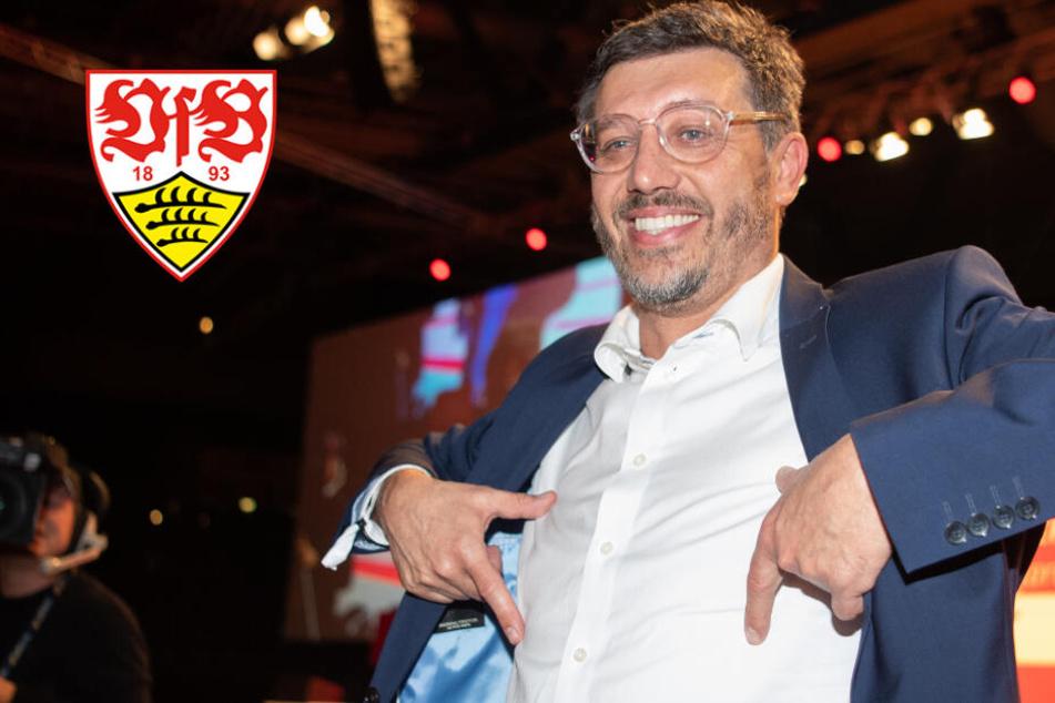Claus Vogt ist neuer VfB-Präsident: Ein Mann, um die Wende zu bringen