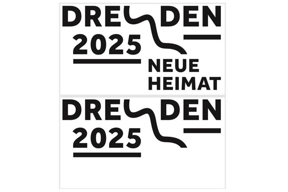 Mit diesem Logo wirbt Dresden für sich.