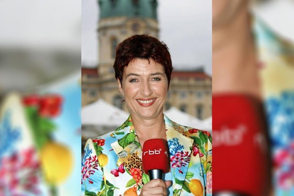 Carla Kniestedt arbeitet als RBB-Moderatorin. Dieses Bild entstand 2005.