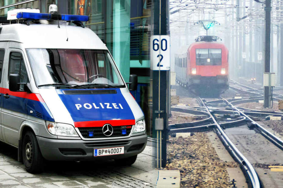 Bombendrohung: Züge stehen vor abgeriegeltem Bahnhof still, Fahndung nach Täter läuft!