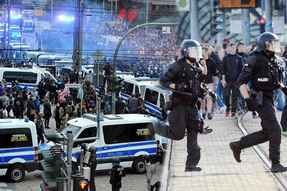 Politische Gewalt von rechts und links nimmt zu: Chemnitz wird zum Pulverfass