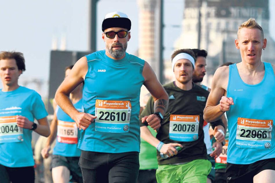 Beim Dresden Marathon geht jeden Oktober in der City gar nichts mehr, sogar die Marienbrücke ist dann dicht.