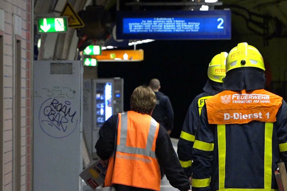 """Der Unfall in der Station """"Ostendstraße"""" ereignete sich gegen 16 Uhr."""