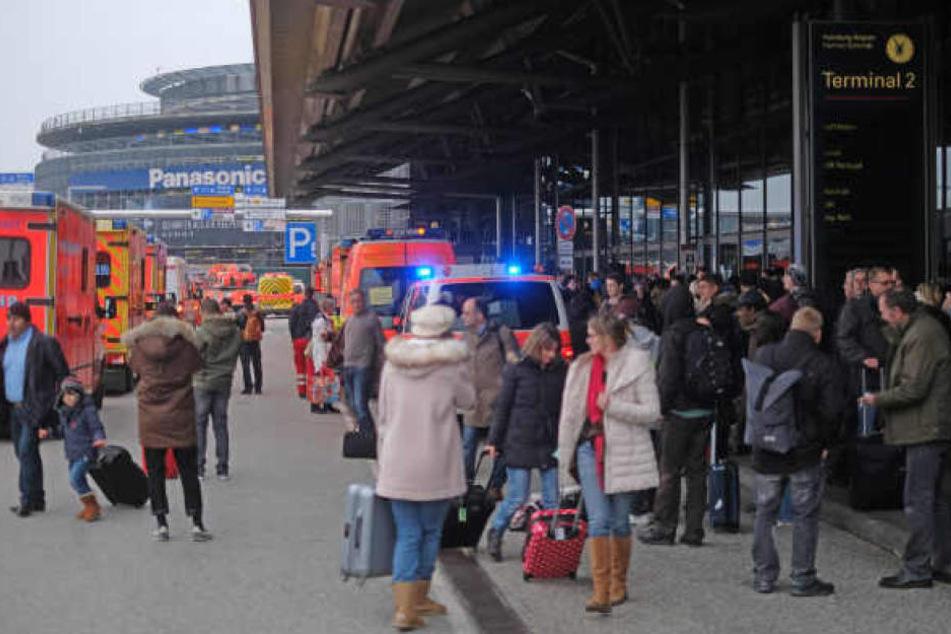 Am Montag hat es am Helmut-Schmidt-Flughafen in Hamburg erneut einen Reizgasalarm gegeben (Foto von Sonntag).