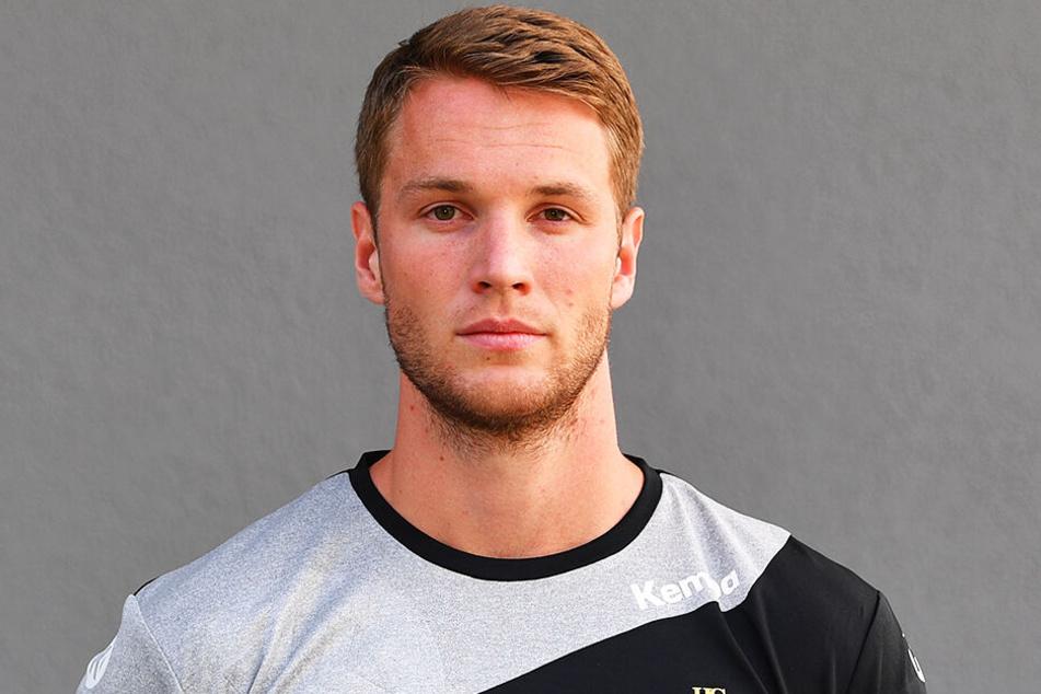 HCE-Spieler Nils Kretschmer verlor mit seiner Mannschaft beim HSV Hamburg.