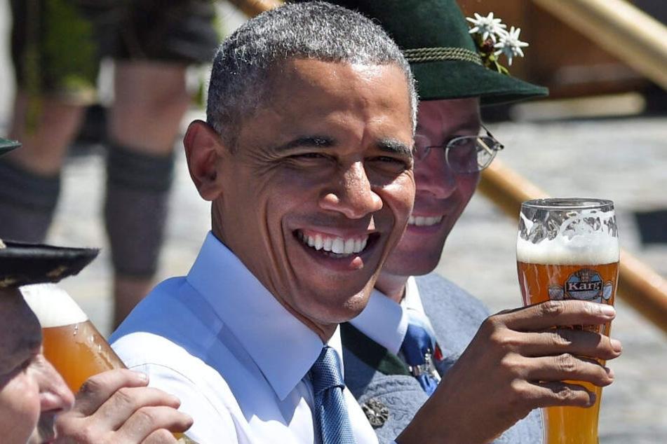 Ex-Präsident Barack Obama besucht München!