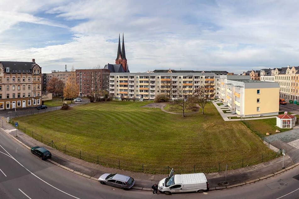 Auf der Brache Fürstenstraße/ Ecke Zietenstraße ist der neue Park geplant.