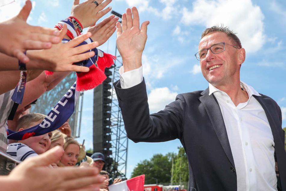 Nach seinem Abschied von RB Leipzig: Rangnick denkt über Nationaltrainer-Posten nach